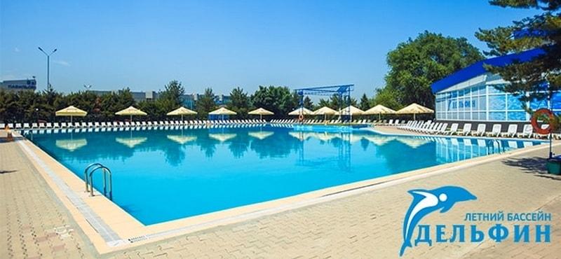 Дельфин бассейн в Алматы на Атакенте